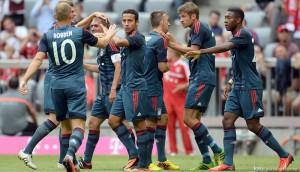 Bayern Munchen - Barcelona 2-0, in cel mai tare amical al verii