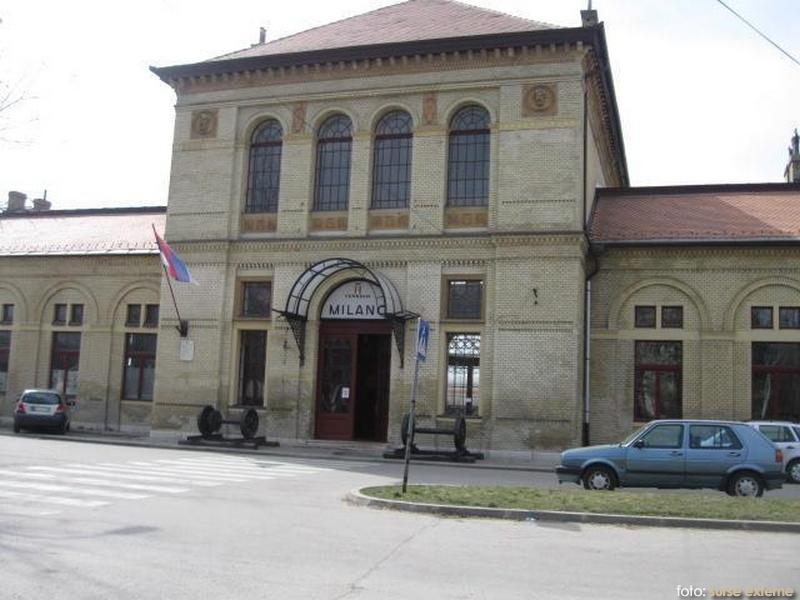 Gara din Varset filmari