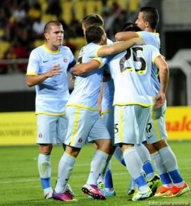 Steaua a invins pe Dinamo Tbilisi, scor 2-0