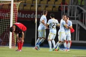 Steaua a invins pe Vardar Skopje