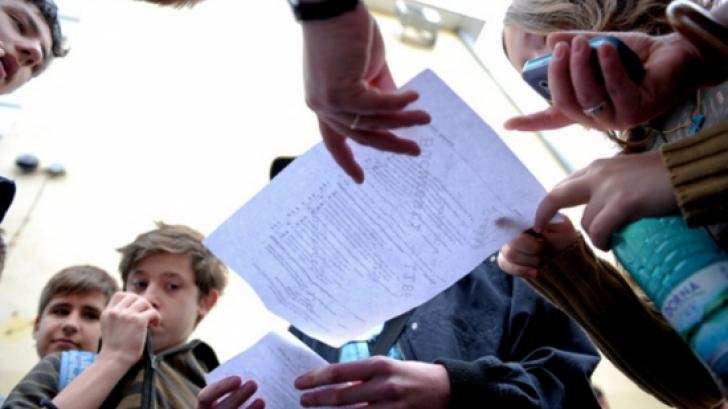 elevi evaluarea nationala
