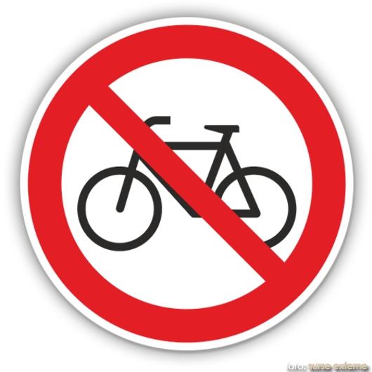 interzis biciclete