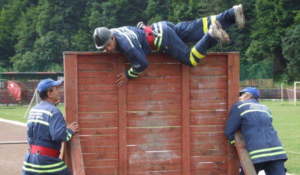 pompieri in concurs