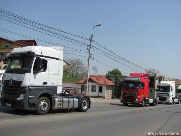 protest camioane