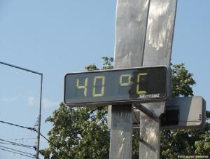 40 de grade Celsius