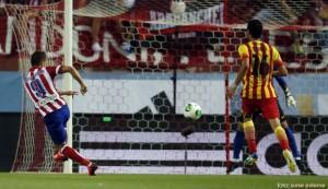 Atletico Madrid a remizat cu FC Barcelona, 1-1, in mansa tur a Supercupei Spaniei