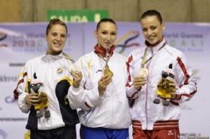 Corina Constantin, aur la individual feminin, la Cali