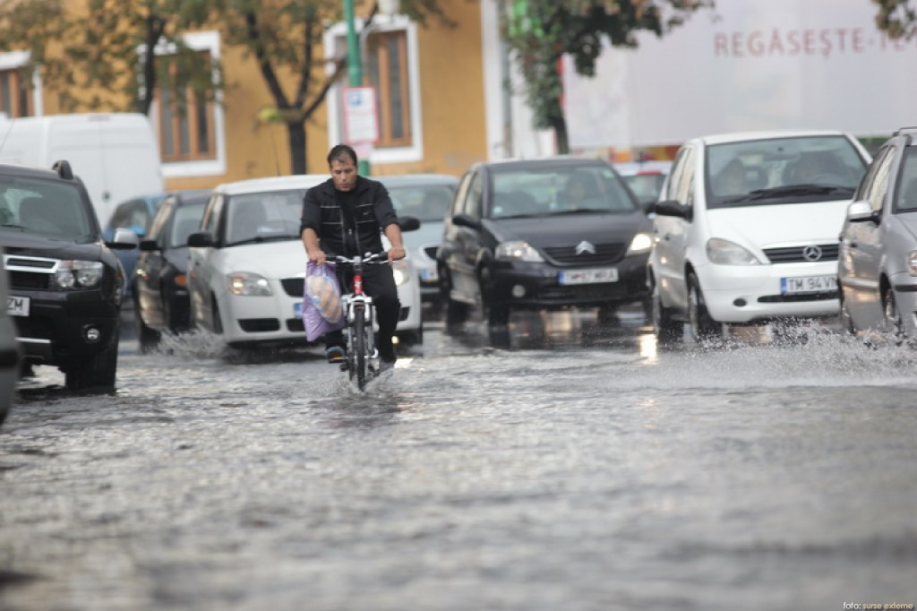 Timisoara inundata