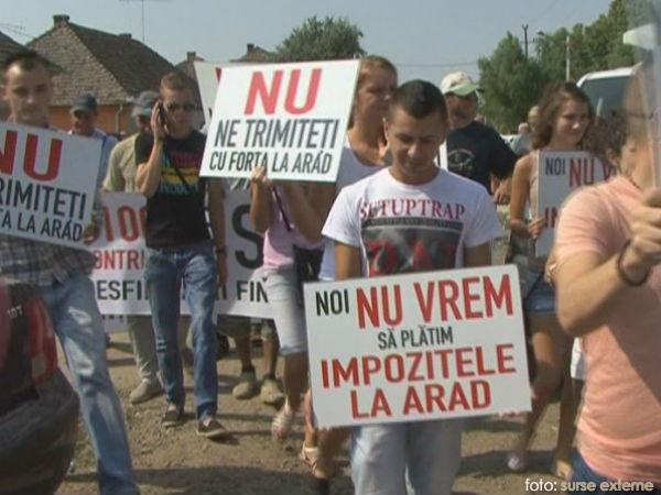proteste Pecica