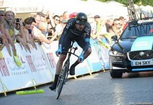 Bradley Wiggins a castigat etapa a 3-a a Turului ciclist al Marii Britanii