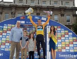 Ciclistul Bradley Wiggins a castigat Turul Marii Britanii
