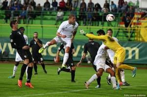 FC Vaslui - ACS Poli Timisoara 1-0, in etapa a 7-a