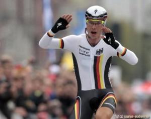 Germanul Tony Martin si-a pastrat titlul suprem la contratimp