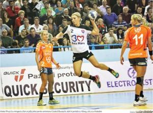 HCM Baia Mare s-a calificat in grupele Ligii Campionilor