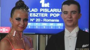 Primul titlu mondial pentru dansul sportiv din Romania