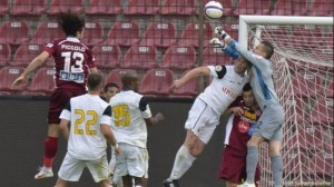 U Cluj - CFR Cluj 0-0, in etapa a 7-a a Ligii I de fotbal