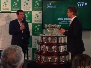 tragerea la sorti pentru Grupa Mondiala a Cupei Davis din 2014