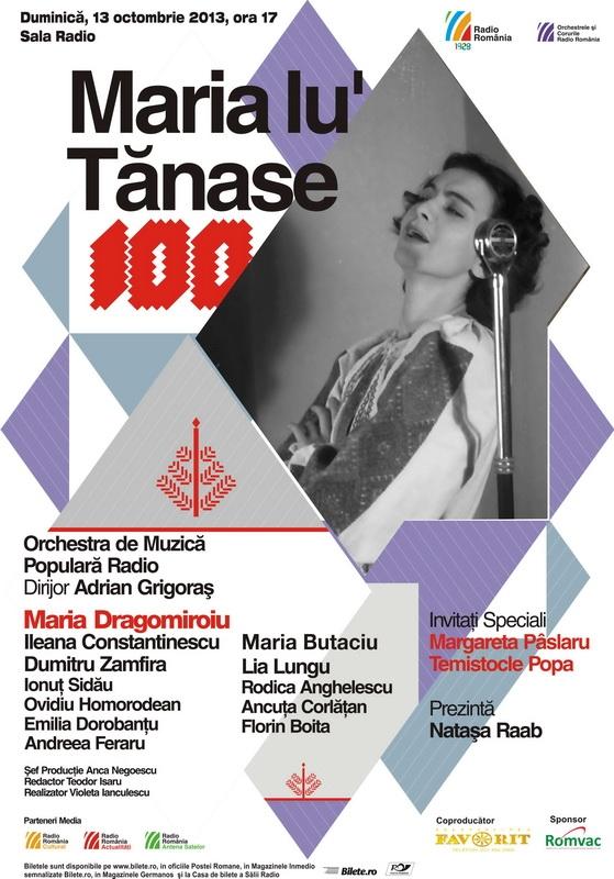 Maria Tanase SalaRadio
