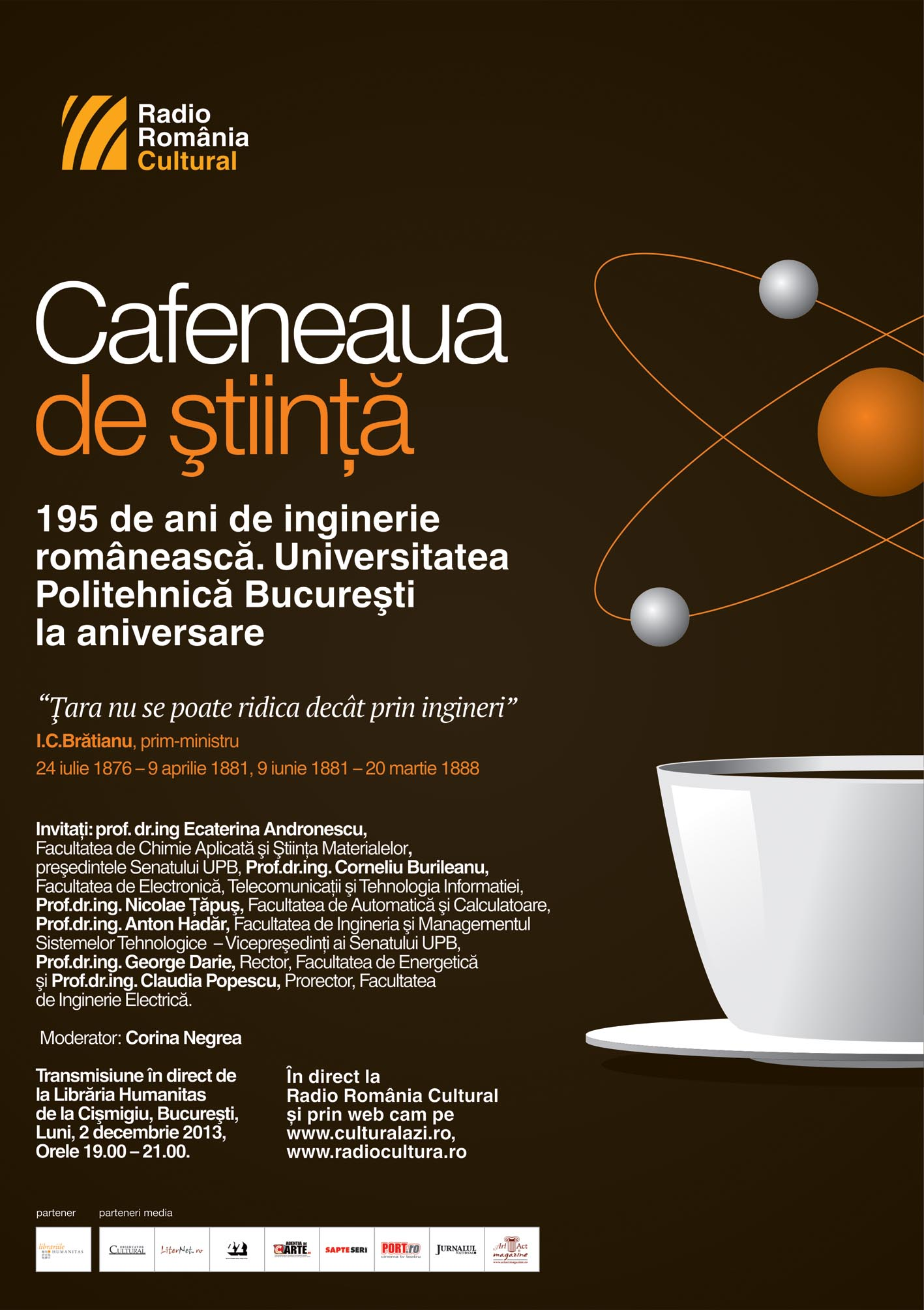 Cafeneaua stiinta 2dec