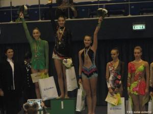 Diana Valeanu, locul 3 pe podium