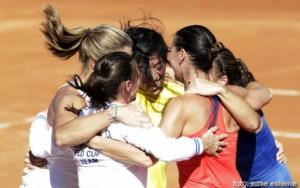 Italia a invins Rusia in finala Fed Cup
