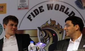 Magnus Carlsen,Viswanathan Anand
