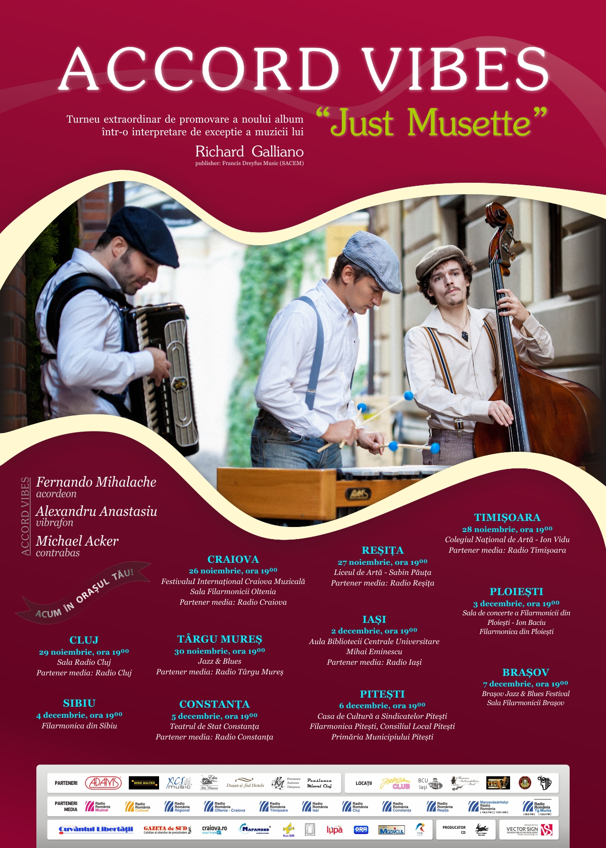 Poster Just Musette new