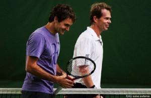 Roger Federer va colabora cu suedezul Stefan Edberg