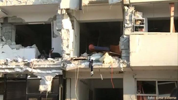 explozie bloc Calarasi