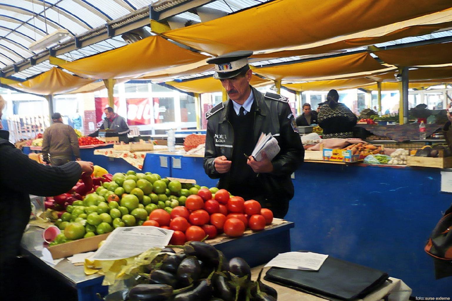 politia locala in piete
