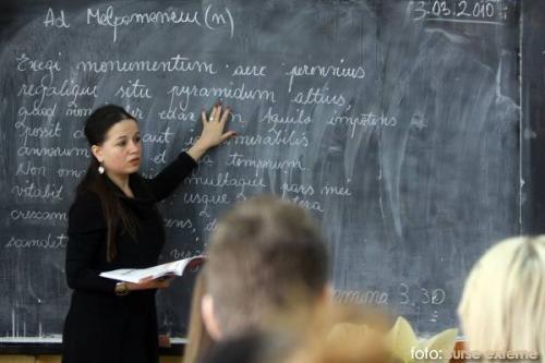 profesor la tabla