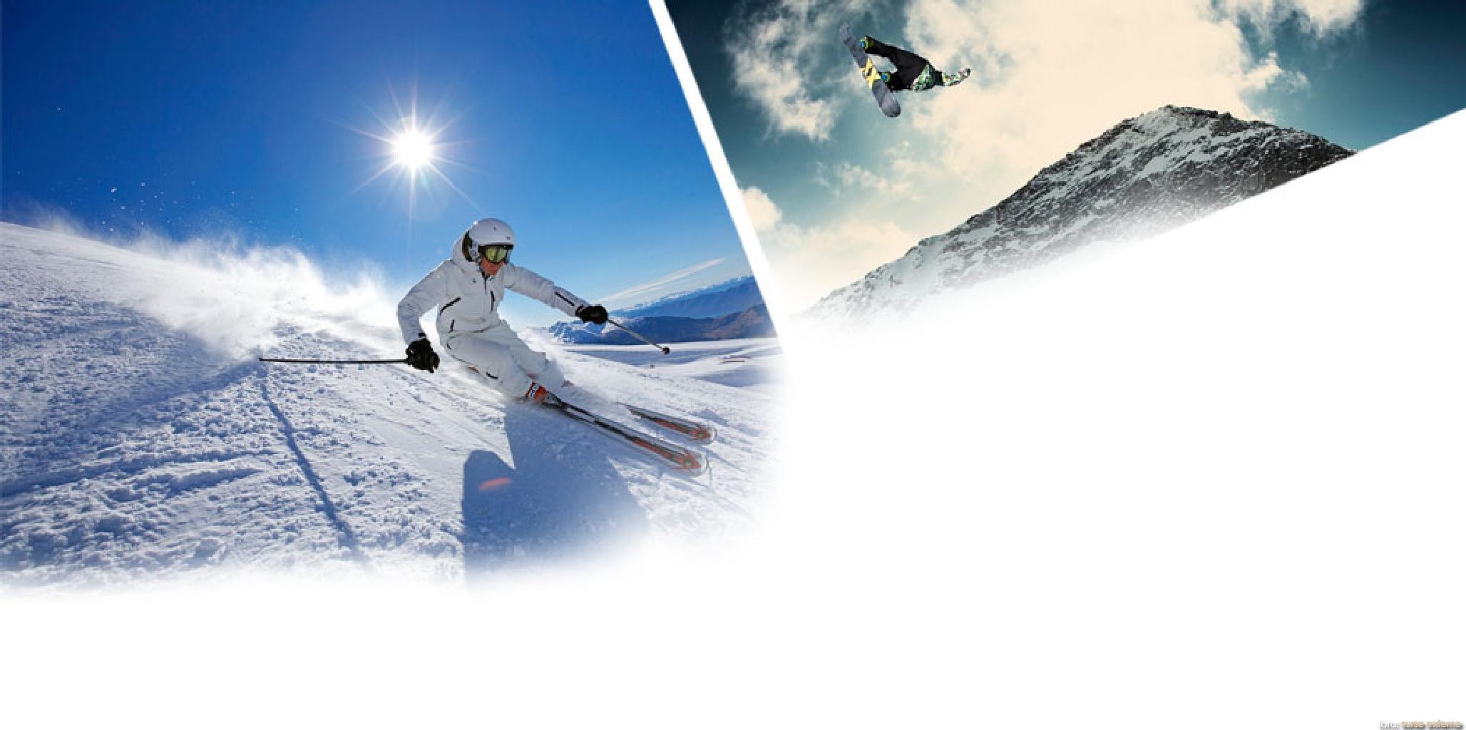 schi vs snowboard