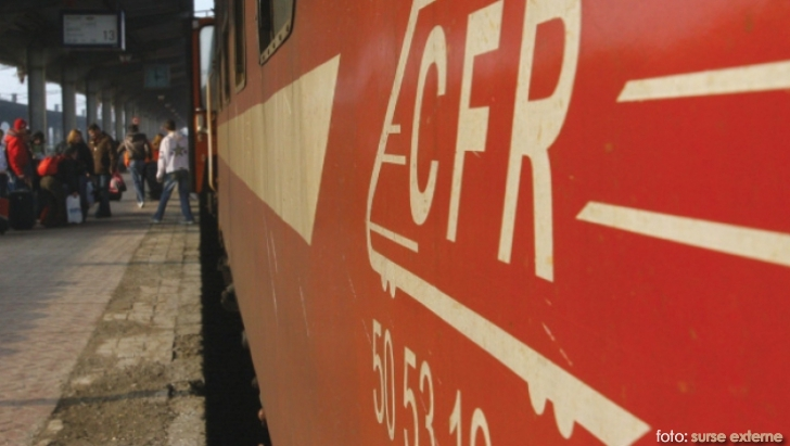 CFR sigla pe tren