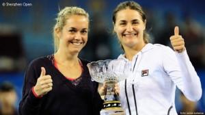 Monica Niculescu si Klara Zakopalova in semifinale la Paris