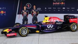 Noul monopost al echipei Red Bull