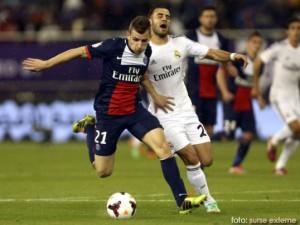 Real Madrid a castigat meciul amical impotriva echipei Paris Saint-Germain