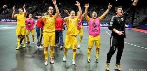 Romania la Europeanul de fotbal in sala, in 2014
