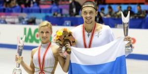 Tatiana Volosojar si Maxim Trankov, campioni europeni in 2014