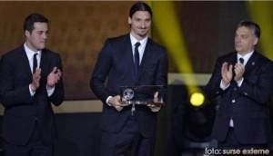 Zlatan Ibrahimovici a primit premiul Puskas