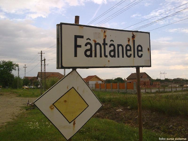 comuna Fantanele Arad