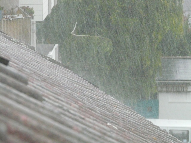 ploaie pe acoperis