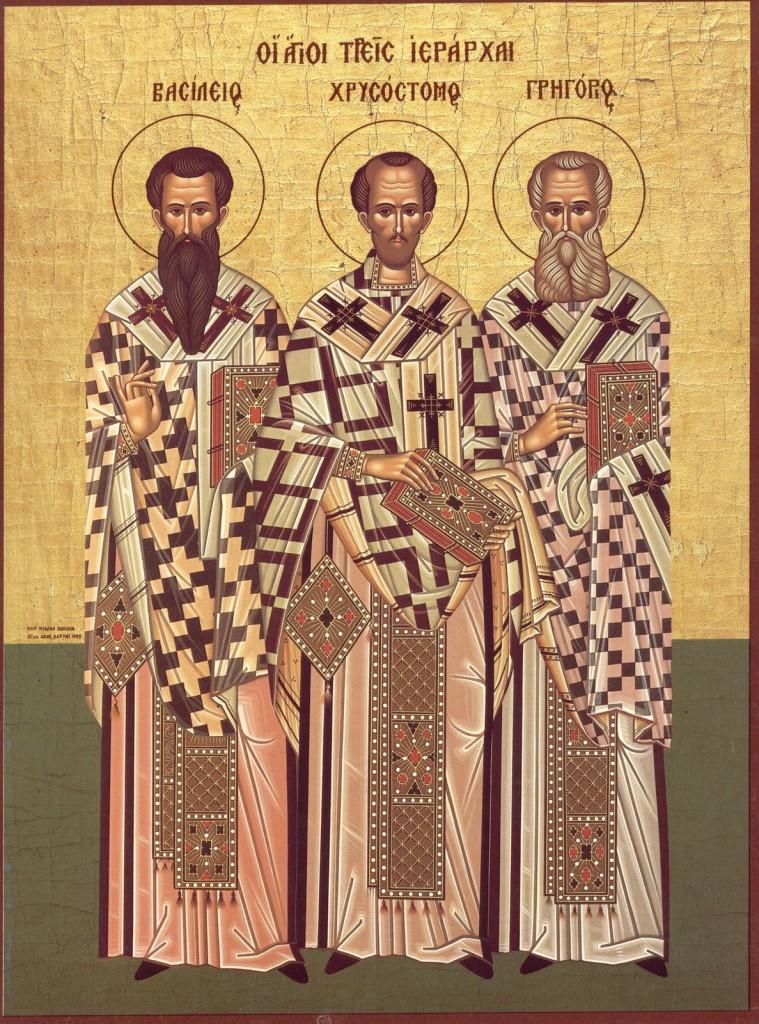 sfintii trei-ierarhi
