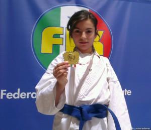 Andreea Lupu din Anina, medaliata la Trieste, Italia, in 2014