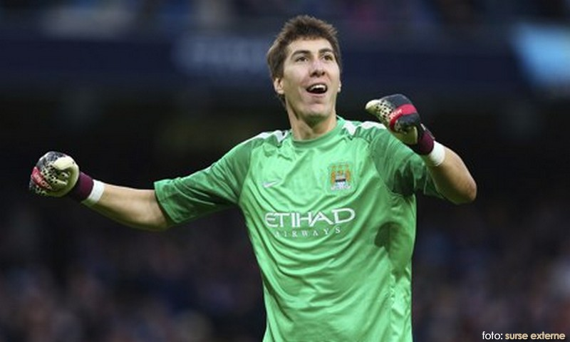 Costel Pantilimon made seven Premier League appearances for Manchester City