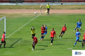 FC Caransebes amical cu Metalul Resita, imagine de arhiva
