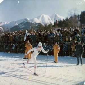 Soviet Skier Saweljew