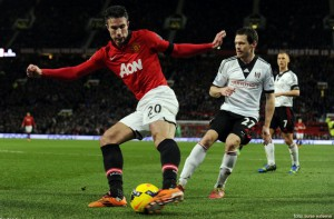 Manchester United - Fulham, 2-2, in Premier League