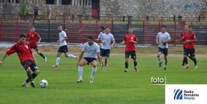 Metalul Resita si FC Hunedoara, imagine de arhiva