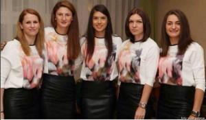 echipa feminina de tenis a Romaniei