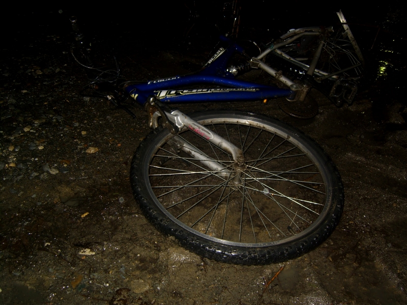 Biciclist accidentat